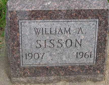 SISSON, WILLIAM A. - Minnehaha County, South Dakota | WILLIAM A. SISSON - South Dakota Gravestone Photos