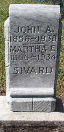 SIVARD, MARTHA E. - Minnehaha County, South Dakota   MARTHA E. SIVARD - South Dakota Gravestone Photos