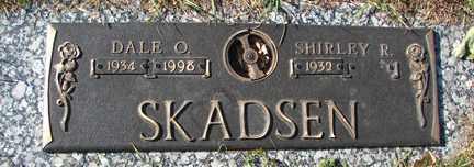 SKADSEN, SHIRLEY R. - Minnehaha County, South Dakota   SHIRLEY R. SKADSEN - South Dakota Gravestone Photos