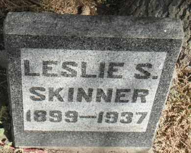 SKINNER, LESLIE S. - Minnehaha County, South Dakota | LESLIE S. SKINNER - South Dakota Gravestone Photos