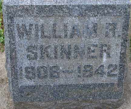 SKINNER, WILLIAM R. - Minnehaha County, South Dakota | WILLIAM R. SKINNER - South Dakota Gravestone Photos