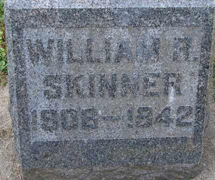 SKINNER, WILLIAM R. - Minnehaha County, South Dakota   WILLIAM R. SKINNER - South Dakota Gravestone Photos