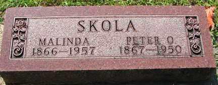 SKOLA, MALINDA - Minnehaha County, South Dakota   MALINDA SKOLA - South Dakota Gravestone Photos