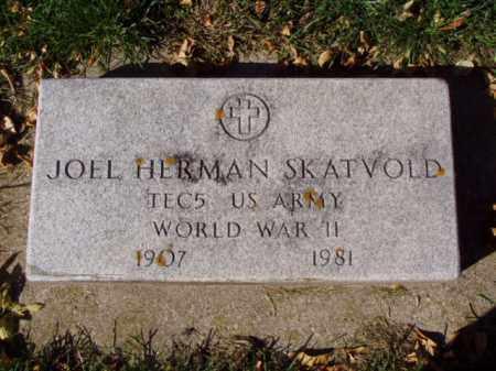 SKATVOLD, JOEL HERMAN - Minnehaha County, South Dakota   JOEL HERMAN SKATVOLD - South Dakota Gravestone Photos