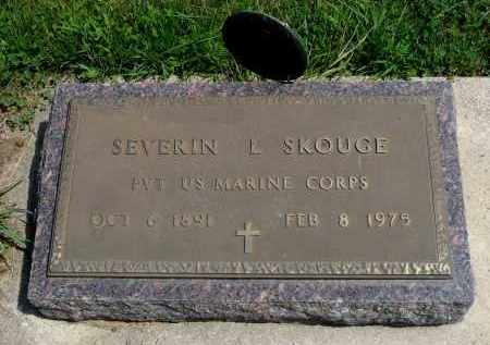 SKOUGE, SEVERIN L. - Minnehaha County, South Dakota | SEVERIN L. SKOUGE - South Dakota Gravestone Photos