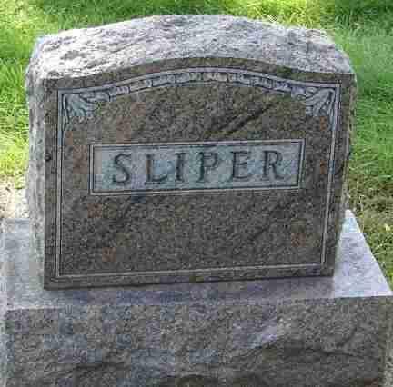 SLIPER, FAMILY MARKER - Minnehaha County, South Dakota | FAMILY MARKER SLIPER - South Dakota Gravestone Photos