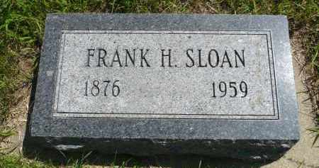 SLOAN, FRANK H. - Minnehaha County, South Dakota | FRANK H. SLOAN - South Dakota Gravestone Photos
