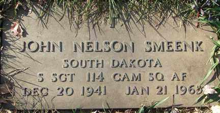 SMEENK, JOHN NELSON (MILITARY) - Minnehaha County, South Dakota   JOHN NELSON (MILITARY) SMEENK - South Dakota Gravestone Photos