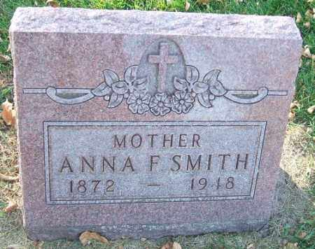 SMITH, ANNA F. - Minnehaha County, South Dakota | ANNA F. SMITH - South Dakota Gravestone Photos