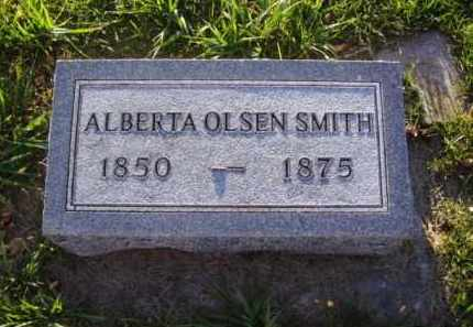 OLSEN SMITH, ALBERTA - Minnehaha County, South Dakota | ALBERTA OLSEN SMITH - South Dakota Gravestone Photos
