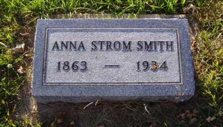 STROM SMITH, ANNA - Minnehaha County, South Dakota | ANNA STROM SMITH - South Dakota Gravestone Photos