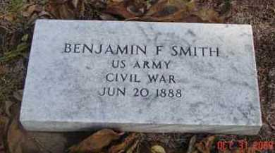 SMITH, BENJAMIN F. - Minnehaha County, South Dakota | BENJAMIN F. SMITH - South Dakota Gravestone Photos