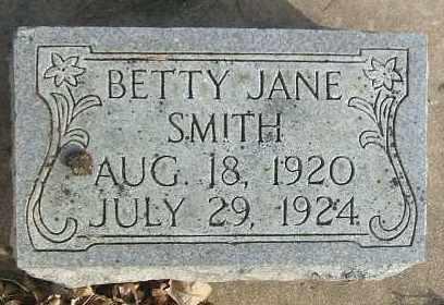 SMITH, BETTY JANE - Minnehaha County, South Dakota | BETTY JANE SMITH - South Dakota Gravestone Photos