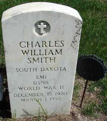 SMITH, CHARLES WILLIAM - Minnehaha County, South Dakota | CHARLES WILLIAM SMITH - South Dakota Gravestone Photos