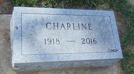 SMITH, CHARLINE - Minnehaha County, South Dakota | CHARLINE SMITH - South Dakota Gravestone Photos