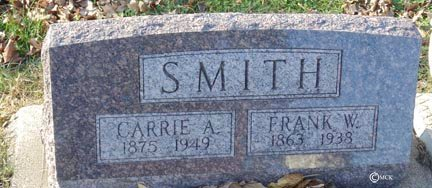 SMITH, FRANK W. - Minnehaha County, South Dakota | FRANK W. SMITH - South Dakota Gravestone Photos