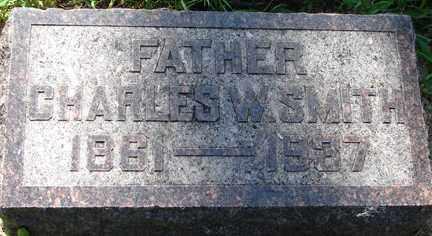 SMITH, CHARLES W. - Minnehaha County, South Dakota   CHARLES W. SMITH - South Dakota Gravestone Photos
