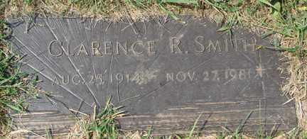 SMITH, CLARENCE R. - Minnehaha County, South Dakota | CLARENCE R. SMITH - South Dakota Gravestone Photos