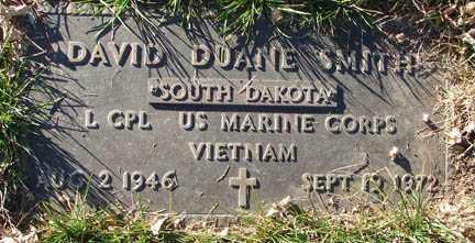 SMITH, DAVID DUANE - Minnehaha County, South Dakota | DAVID DUANE SMITH - South Dakota Gravestone Photos
