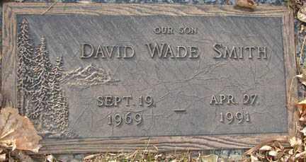 SMITH, DAVID WADE - Minnehaha County, South Dakota | DAVID WADE SMITH - South Dakota Gravestone Photos