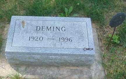 SMITH, DEMING - Minnehaha County, South Dakota | DEMING SMITH - South Dakota Gravestone Photos