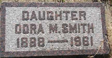 SMITH, DORA M. - Minnehaha County, South Dakota   DORA M. SMITH - South Dakota Gravestone Photos