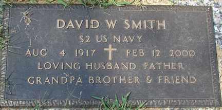 SMITH, DAVID W. (MILITARY) - Minnehaha County, South Dakota | DAVID W. (MILITARY) SMITH - South Dakota Gravestone Photos