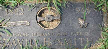 SMITH, DAVID H. - Minnehaha County, South Dakota | DAVID H. SMITH - South Dakota Gravestone Photos
