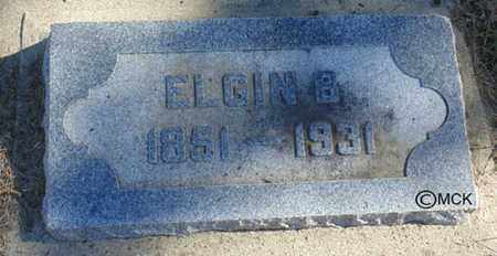 SMITH, ELGIN B. - Minnehaha County, South Dakota | ELGIN B. SMITH - South Dakota Gravestone Photos