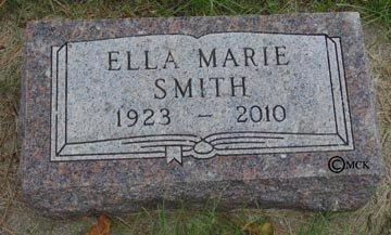 SMITH, ELLA MARIE - Minnehaha County, South Dakota | ELLA MARIE SMITH - South Dakota Gravestone Photos