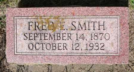 SMITH, FRED E. - Minnehaha County, South Dakota | FRED E. SMITH - South Dakota Gravestone Photos