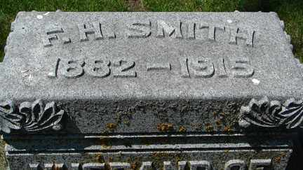 SMITH, F.H. - Minnehaha County, South Dakota | F.H. SMITH - South Dakota Gravestone Photos