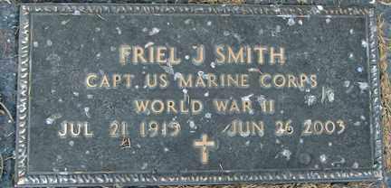 SMITH, FRIEL J. (WWII) - Minnehaha County, South Dakota   FRIEL J. (WWII) SMITH - South Dakota Gravestone Photos