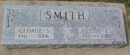 SMITH, GEORGE S. - Minnehaha County, South Dakota | GEORGE S. SMITH - South Dakota Gravestone Photos