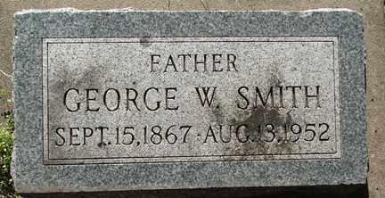 SMITH, GEORGE W. - Minnehaha County, South Dakota | GEORGE W. SMITH - South Dakota Gravestone Photos