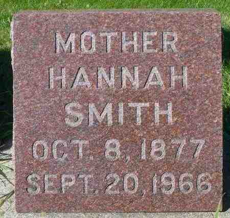 SMITH, HANNAH - Minnehaha County, South Dakota | HANNAH SMITH - South Dakota Gravestone Photos