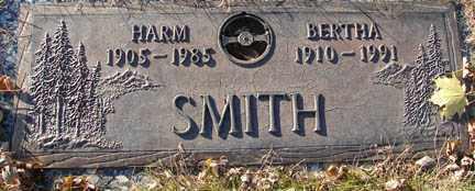 SMITH, BERTHA - Minnehaha County, South Dakota   BERTHA SMITH - South Dakota Gravestone Photos