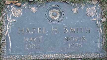 SMITH, HAZEL H. - Minnehaha County, South Dakota | HAZEL H. SMITH - South Dakota Gravestone Photos
