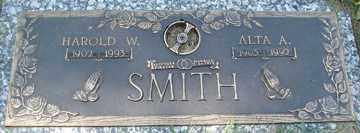 SMITH, HAROLD W. - Minnehaha County, South Dakota | HAROLD W. SMITH - South Dakota Gravestone Photos