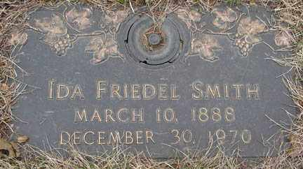 SMITH, IDA FRIEDEL - Minnehaha County, South Dakota | IDA FRIEDEL SMITH - South Dakota Gravestone Photos