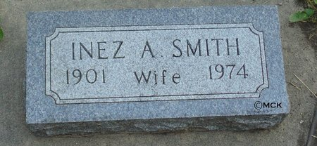 SMITH, INEZ A. - Minnehaha County, South Dakota | INEZ A. SMITH - South Dakota Gravestone Photos