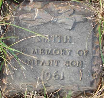 SMITH, INFANT SON - Minnehaha County, South Dakota | INFANT SON SMITH - South Dakota Gravestone Photos