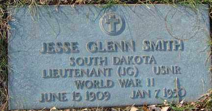 SMITH, JESSE GLENN - Minnehaha County, South Dakota | JESSE GLENN SMITH - South Dakota Gravestone Photos