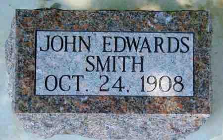SMITH, JOHN EDWARDS - Minnehaha County, South Dakota   JOHN EDWARDS SMITH - South Dakota Gravestone Photos
