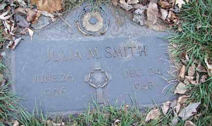 SMITH, JULIA M. - Minnehaha County, South Dakota   JULIA M. SMITH - South Dakota Gravestone Photos