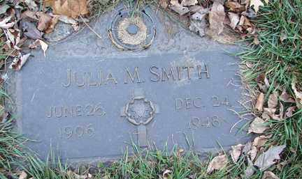 SMITH, JULIA M. - Minnehaha County, South Dakota | JULIA M. SMITH - South Dakota Gravestone Photos