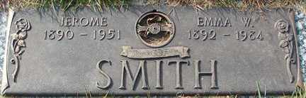 SMITH, EMMA W. - Minnehaha County, South Dakota | EMMA W. SMITH - South Dakota Gravestone Photos