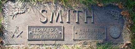 SMITH, HELENE E. - Minnehaha County, South Dakota | HELENE E. SMITH - South Dakota Gravestone Photos
