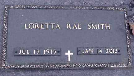 SMITH, LORRETTA RAE - Minnehaha County, South Dakota | LORRETTA RAE SMITH - South Dakota Gravestone Photos