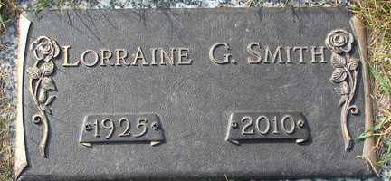 SMITH, LORRAINE G. - Minnehaha County, South Dakota | LORRAINE G. SMITH - South Dakota Gravestone Photos